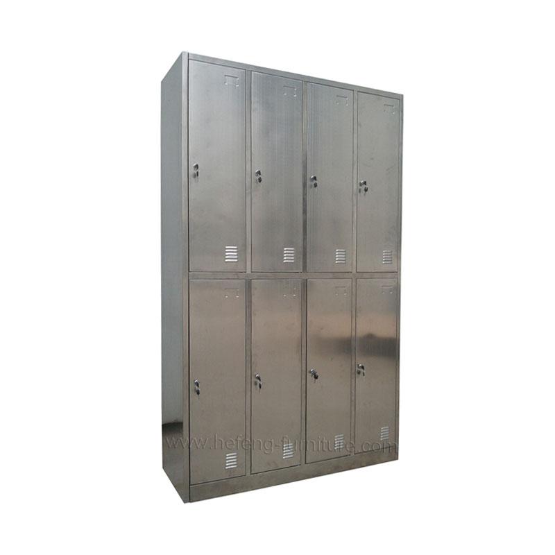 ตู้ล็อคเกอร์ สแตนเลส 8 ประตู